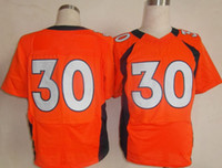 Wholesale Superbowl Football Jerseys Broncos Elite Sports Jerseys Orange Football Jerseys Davis Sports wears Mens Stitched Logo Bronco Uniforms