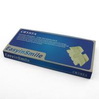 Cheap Hot selling Free shipping Dental Orthodontic Ceramic Bracket Edgewise Brace 3 with Hook 0.022