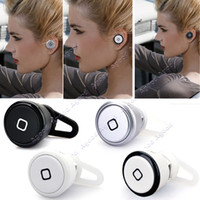 Wholesale 1PCS NEW fashion World Smallest Bluetooth Earphones For Cell Phone iPhone Samsung HTC