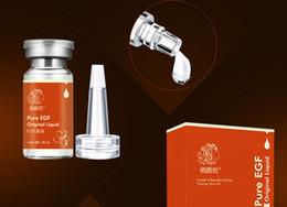 Wholesale Pure EGF Acid Serum Skin Repairing Original Liquid With Desalt Imprint Anti Wrinkle Egf Factor Fade Dark Spots Skin Care EGF Recombinant