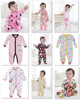 baby body warmers - Retail Fleece Baby Rompers CUTE Body Warmer Baby Girl s Pajamas Footies Baby Overall Newest