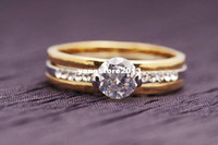 Wholesale Classic Jewelry Kt Solid Gold Filled Beautiful Ring Valentine Gift Rings For Women Engagement Party Ring P64 Size7 gold wedding