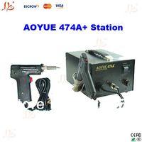 Cheap New desoldering machine Best AOYUE474A+ 220V soldering station