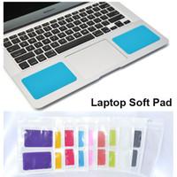 Acheter Utilisé un ordinateur portable asus-Soft Pad Silicone Wristband pour ordinateur portable MacBook Lenovo ASUS généralement utilisé Coussin coloré mat gratuit DHL 100pcs