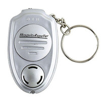 Wholesale hot selling Key Clip Keychain Electronic Ultrasonic Anti Mosquito Insect Pest Repellent Repeller