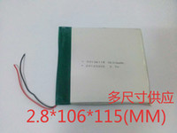 Wholesale 30106115 Taipower Tablet PC brands such as the original road V lithium polymer battery mAh Replacement