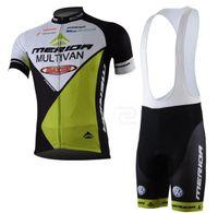 cycling jerseys - novelty cycling jerseys uk Bike Suit MERIDA Team Cycling jersey cycling wear short Bib Pants new zealand cycling jersey C00S