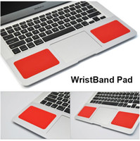 Wholesale Soft Silicone Wristband Pad For Laptop Computer MacBook Retina Lenovo ASUS Generally Used Colorful Mat Cushion Free DHL Shipping