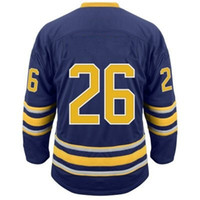 Wholesale Buffalo Matt Moulson Premier Player Jersey Royal Blue