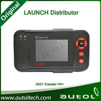 Wholesale OBD2 Scan Tool High Recommend Cars Diagnostic Tool Launch Creader VII with Two Years Warrenty