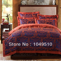 Cheap 2014 New Arrival Factory Outlet Cotton Silk Bed Cover Bedding Set Quilt Cover Set Wholesale