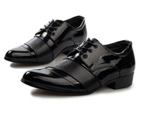 Wholesale NEW HOT style High quality pu leather cusp shoes dress shoes men s casual shoes groom wedding shoes HM10134