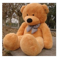 Wholesale New Arriving Giant quot TEDDY BEAR PLUSH HUGE SOFT TOY CM Light Brown