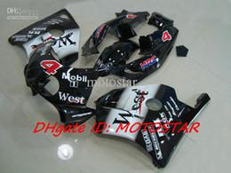 Descuento 91 carenados honda cbr Carenados WEST de la venta caliente para Honda CBR 250RR MC22 1991-1998 CBR250RR CBR250 91-98 MC 22 piezas de la motocicleta