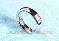 Wholesale round metal cock ring stainless steel penis rings ring for sex D mm mm mm sex delayed time penis loop for men adult sexy product