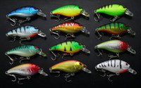 Wholesale 12pcs FISHING LURES CRANKBAITS HOOK BASS g