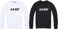 Spring / Autumn kpop - Cotton bigbang G Dragon sweatshirts Jumper Sweatshirt clothing kpop cloth Army printed Crewneck sweatshirts color