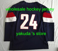 Cheap 2014 USA Ice Hockey Jerseys,USA 2014 Olympic Hockey Team#24 Jersey,USA Team Jersey Wtih American Flag