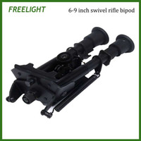 Wholesale 6 inch Harris style rotating angle bipod QD Foldable Tactical Mounting Bi pod swivel style For Rifle Scope Airgun Airsoft