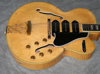 al por mayor string musical instrument-Venta al por mayor - Guitarra vendedora caliente 6 instrumentos musicales de las guitarras eléctricas de las cuerdas --5 Switchmaster, rubio (# GAT0318)