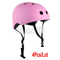 Wholesale 4pcs New Cycling Bicycle Motocross Bike Scooter Roller Extreme Sports Skate Skateboard Helmet Size M TK0984