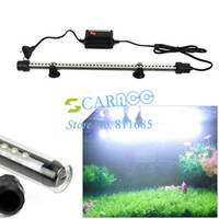 Wholesale New Hot aquarium led lights fish tank lamp Waterproof White LED Bar Submersible Strip V CTK0534
