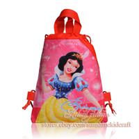 Cheap New arrival,Party gift,12PCS Princess Non-woven Kid's School bag , Kids favor,Birthday gift,Cartoon Backpack bags