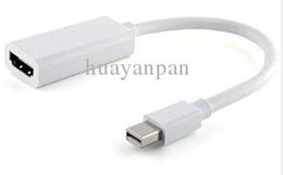 Wholesale New Thunderbolt Mini DisplayPort DP To HDMI Adapter For MacBook Apple Tablet