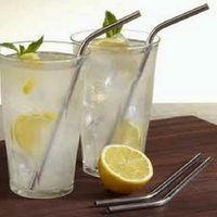 stainless steel straws - Stainless Steel Straw bent straight drinking straw bend drinking straw beer straw fedex DHL