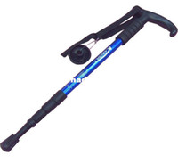 Cheap Telescopic Hiking Walking Trekking Stick Alpenstock 110cm 4 section