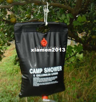 Wholesale 3pcs L Outdoor Camping Hiking Solar Energy Heated Camp Shower Pipe Bag Portable NEW