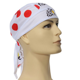 Wholesale Mountain Cycling Outdoor Bicycle Sports Bike Bandana Pirate Spot Hat Cap scarf New