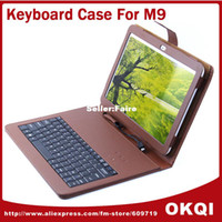 Cheap Original Standard 10.1 inch Keyboard Leather Case for Pipo M9 M9 pro tablet pC