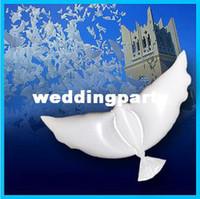 Wholesale Wedding Eco Flying White Dove Balloon FVB buck sell life like White dove Balloon Need charging hydrogen