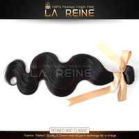 Wholesale 100 Unprocessed Peruvian Virgin Hair Weft Remy Human Hair Weft Body Wave On Sale