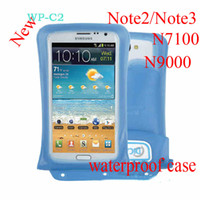 For samsung GALAXY Note2 N7100 Note3 N9000 waterproof bag wi...