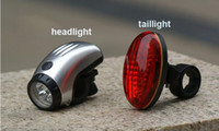 Wholesale Brand New Bycicle Lights Set Waterproof Ultra Bright LED Bike Light Front Light amp Rear Light