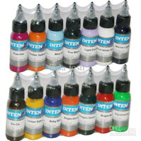 Wholesale Top Quality Set Of Colors Tattoo Ink OZ Pigment ml For Tattoo Kits Gun Grips Beauty Tattoo S