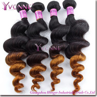 Wholesale Grade A Peruvian Hair Loose Wave Ombre Hair Inches Remy Human Hair Extension Aliexpress Yvonne Hair