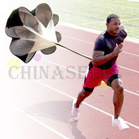 Wholesale hot running training drag parachute speed chute outdoor sporting parachute physical training equipment track field power training