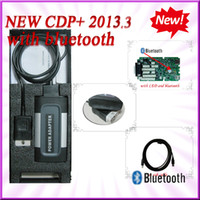 Wholesale 2014 New arrival With bluetooth and BOX R3 with KEYGEN in CD GREY CDP PRO PLUS in diagnostic tools DHL