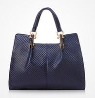 Cheap 2014 Hot Sale Fashion Designer Embossed Quilted First Layer Leather Lady Handbag High Quality British Vintage Graceful Tote Bag Shoulder Bag