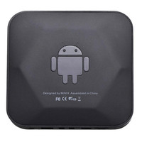 Cheap S5Q RK3066 Dual Core Cortex A9 Smart Android TV Box Wifi Bluetooth USB RJ45 HDMI AAABQV