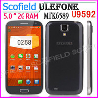 Ulefone 5.0 Android Ulefone U9592 I9500 5.0 INCH MTK6592 Octa Core Android Cell Phone 1G RAM 8G ROM 8.0MP Android 4.2