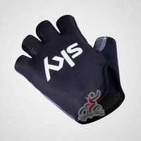 Wholesale 2013 amp latest style sky Cycling Gloves cheap half finger breathable Bicycle Racing Gloves racing short gloves