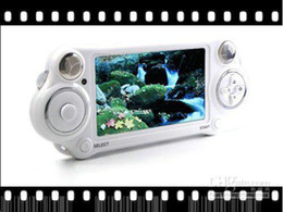 Wholesale - PMP Handheld Game Player With MP3 MP5 Video FM Camera TV OUT Multi-Function Player