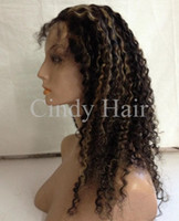 Wholesale 100 Chinese Virgin Hair Beautiful Front Lace Wigs Jerry Curl Hair Queen Beauty Hair Unique Style Top Quality Lower Price Hot Sale CHFW009