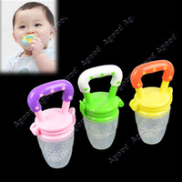 Wholesale New Baby teethers Supplies Fresh Food Nibbler Feeder Feeding Tool