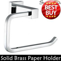 Paper Holders bathroom toilet paper holders - Toilet Paper Holder Roll Holder Tissue Holder Solid Brass Chrome Finished Bathroom Accessories Products