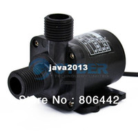 Wholesale Cheap Electric Centrifugal Pump DC V Water Pump Black TK0410